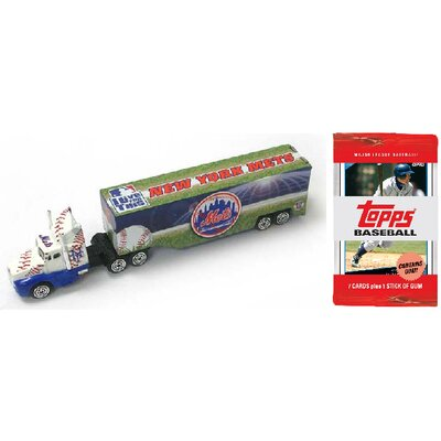 ERTL MLB Tractor Trailer with 10 Packs of Trading Cards