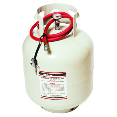 Milton Industries Portable Air Tank 4.6 Gal