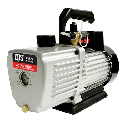 CPS Products Single Stage 1.9 CFM Dual Vaccum Pump