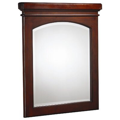 Danze® Cirtangular Mirror in Mahogany