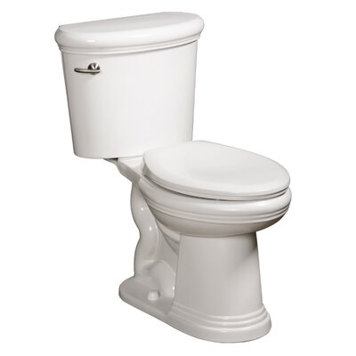 Orrington High Efficiency 1.28 GPF Elongated 2 Piece Toilet