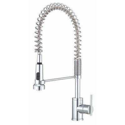 Parma Single Handle Single Hole Pre-Rinse Bar Faucet