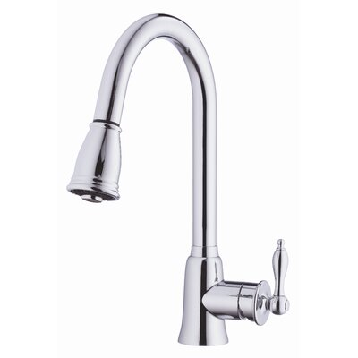 Danze® Prince Single Handle Single Hole Kitchen Pull-Down Faucet