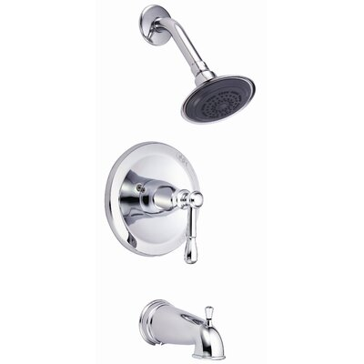 Danze® Eastham Single Handle Pressure Balance Diverter Tub and Shower Faucet