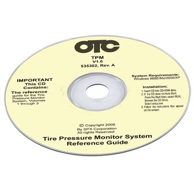OTC Tire Pressure Monitor Cd