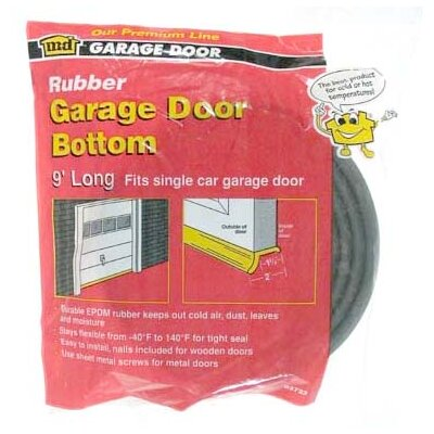 "M-d Products 2"" Rubber Garage Door Bottom"