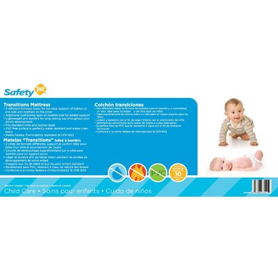 Safety 1st Transitions Baby & Toddler Mattress