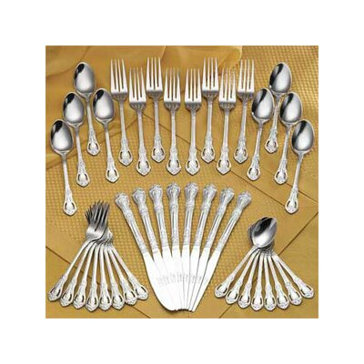 45 Piece Chelsea Flatware Set