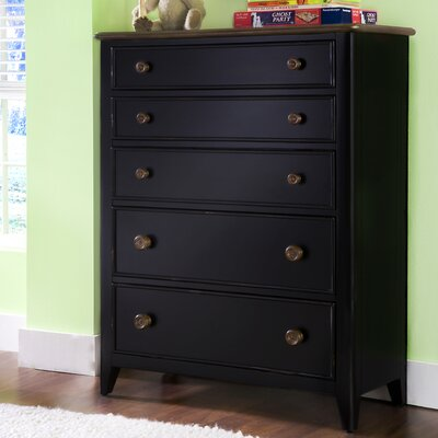 American Woodcrafters Weekends 5-Drawer Chest