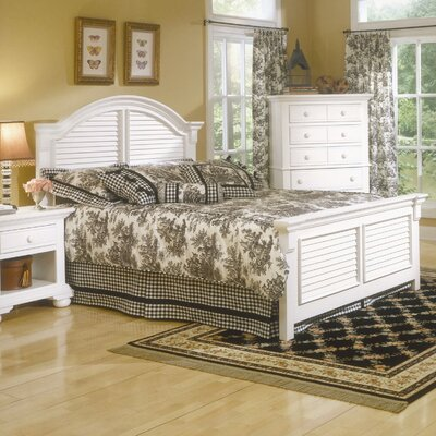 American Woodcrafters Cottage Traditions Panel Bed