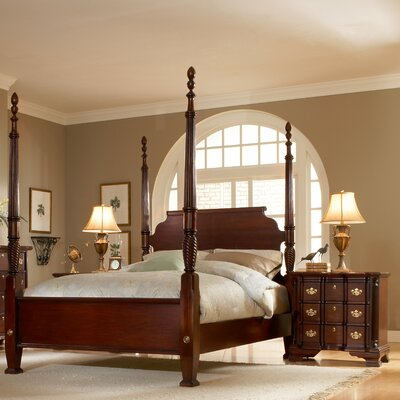 American Woodcrafters Lasting Traditions Four Poster Bedroom Collection