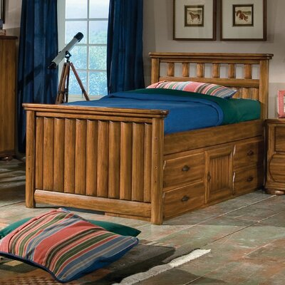 American Woodcrafters Timberline Panel Bed