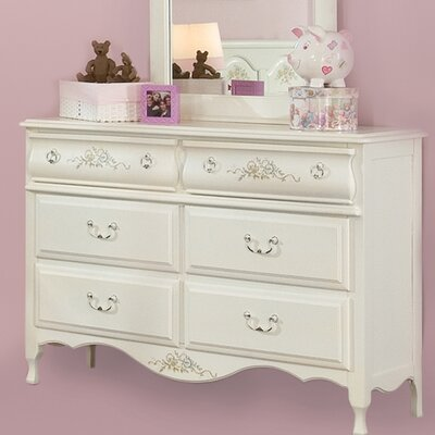 American Woodcrafters Summerset 6-Drawer Dresser