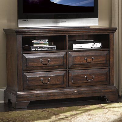 American Woodcrafters Heritage Lodge 4 Drawer Dresser