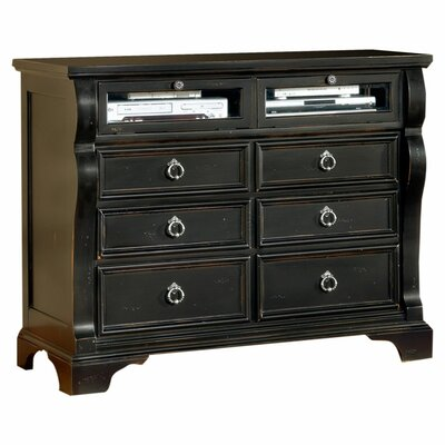<strong>American Woodcrafters</strong> Carlisle 6 Drawer Media Chest