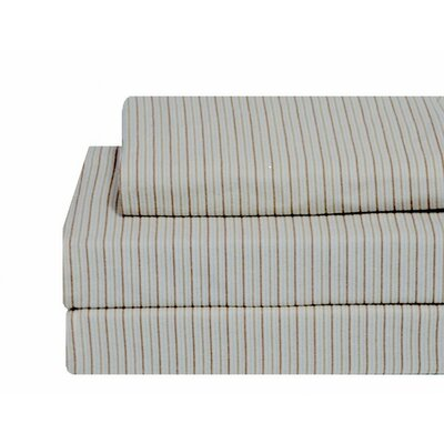 Pacific Stripe Flannel Sheet Set