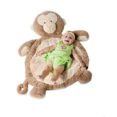 Bestever Baby Mat with Monkey in Natural