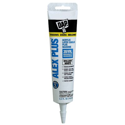 DAP Alex Plus® Acrylic Latex Caulk Plus Silicone 18128