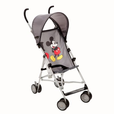 Disney Baby I Heart Mickey Umbrella Stroller with Canopy
