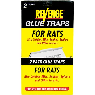 Bonide Revenge Glue Traps for Rats (Set of 2)