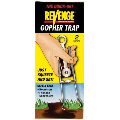 Bonide Revenge Gopher Trap (2 Pack)