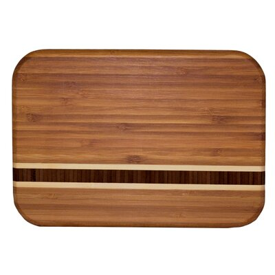 Totally Bamboo Caribbean Barbados Bar Cutting Board