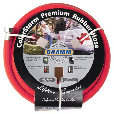 "Dramm Corporation 0.63"" x 600"" ColorStorm™ Premium Rubber Hose"