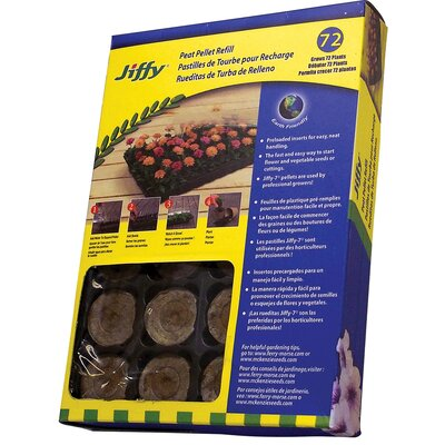 Ferry Morse/Jiffy 7® 72 Refill Trays