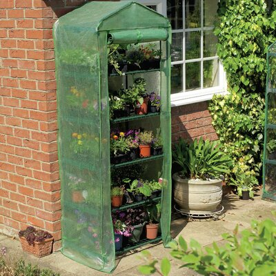 Gardman USA Grow It 5 Tier PVC Growing Rack Greenhouse