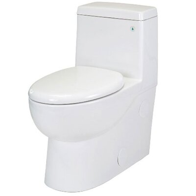 Pegasus Matera 1.28 GPF Elongated 1 Piece Toilet