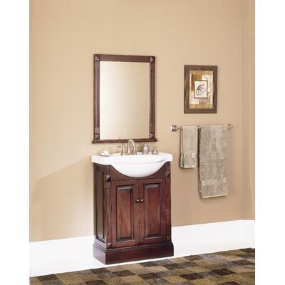 "Pegasus Salerno 25"" Single Bathroom Vanity Set & Reviews"
