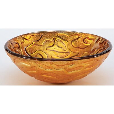 Coral Pattern Vessel Bathroom Sink - GVSCOR