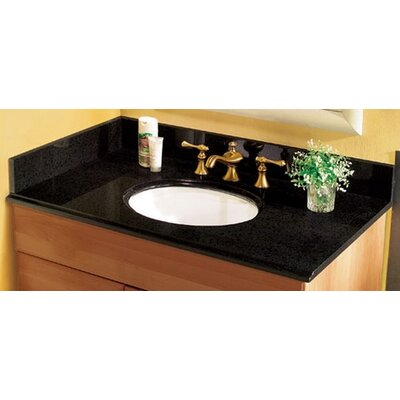Pegasus Granite Vanity Top with Sink and Optional Side Splash
