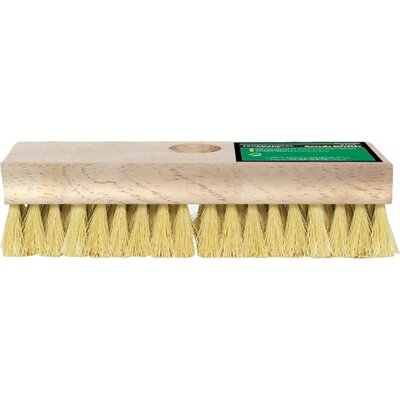 "Gam 7-3/4"" Acid Deck Scrub Brush BM00493"