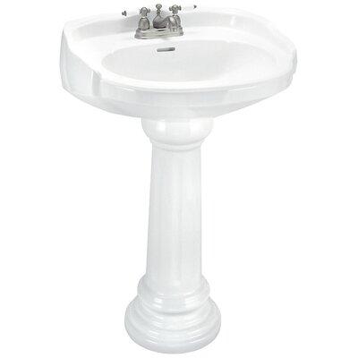 ... Classics Aberdeen Petite Pedestal Sink Set & Reviews Wayfair