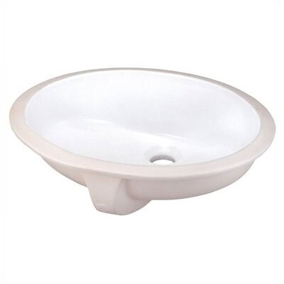 Elizabethan Classics English Turn Undermount Bathroom Sink