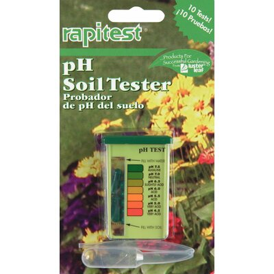 Lusterleaf Rapitest Soil pH Tester