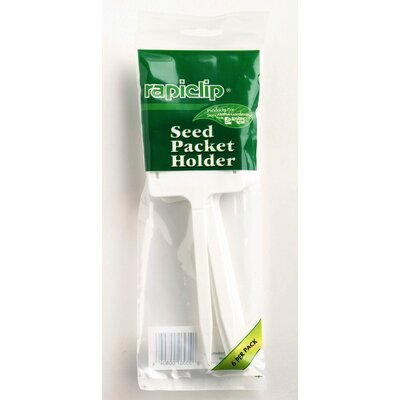 Lusterleaf Rapiclip Seed Packet Holder