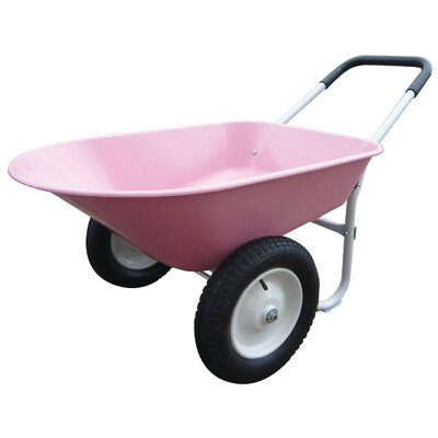 Marathon Industries 5 Cubic Feet Poly Wheelbarrow