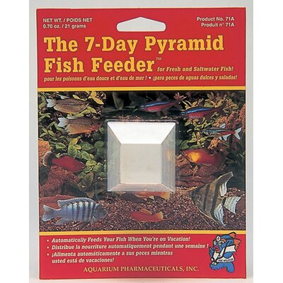 Mars Fishcare North America Pyramid 7 Day Fish Feeder - 1 Pack