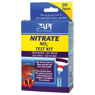 Mars Fishcare North America Nitrate Water Test Kit For Freshwater & Saltwater L