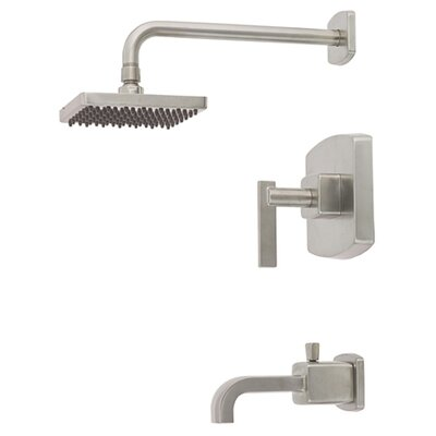 "Belle Foret Mainz 6.69"" Spout Diverter Tub/Shower Faucet Trim"