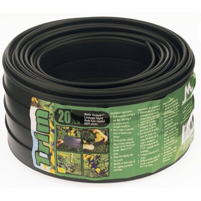 Master mark plastics the trim landscape edging amp reviews wayfair