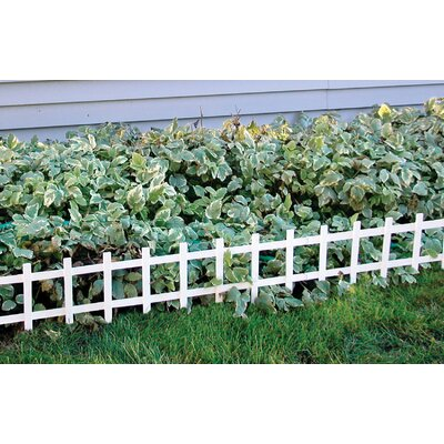 "Master Mark Plastics 33"" x 8-1/2"" Cape Cod Fence"
