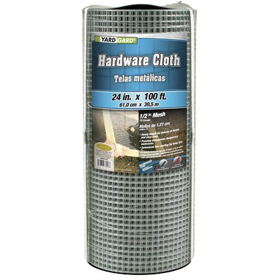 "Mat 0.5"" Mesh Galvanized Hardware Cloth"