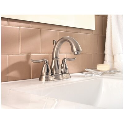 Price Pfister Sedona Centerset Bathroom Faucet with Double Lever Handles