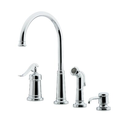 pfister ashfield single handle widespread kitchen faucet pfister gt531 ypy ashfield pull down kitchen faucet