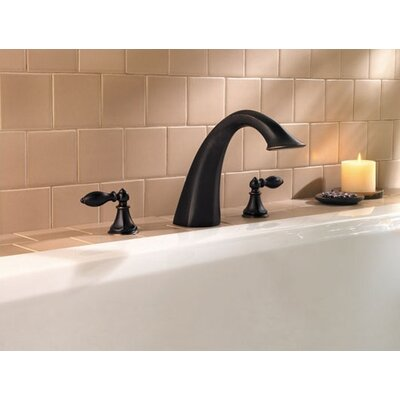 Price Pfister Catalina Double Handle Deck Mount Roman Tub Faucet