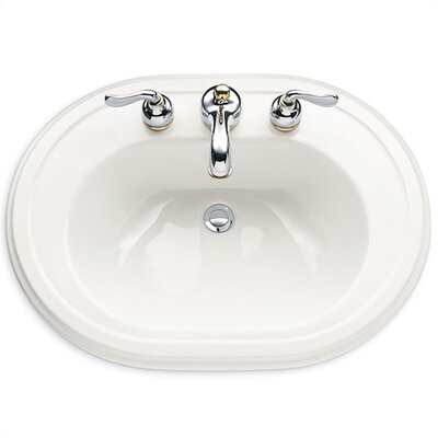 American Standard Heritage Countertop Bathroom Sink