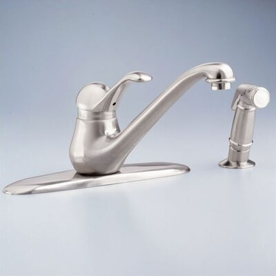 American Standard Jasmine Single Handle Centerset kitchenFaucet with Conventional Spout